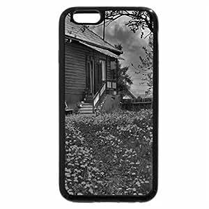 iPhone 6S Plus Case, iPhone 6 Plus Case (Black & White) - In the backyard