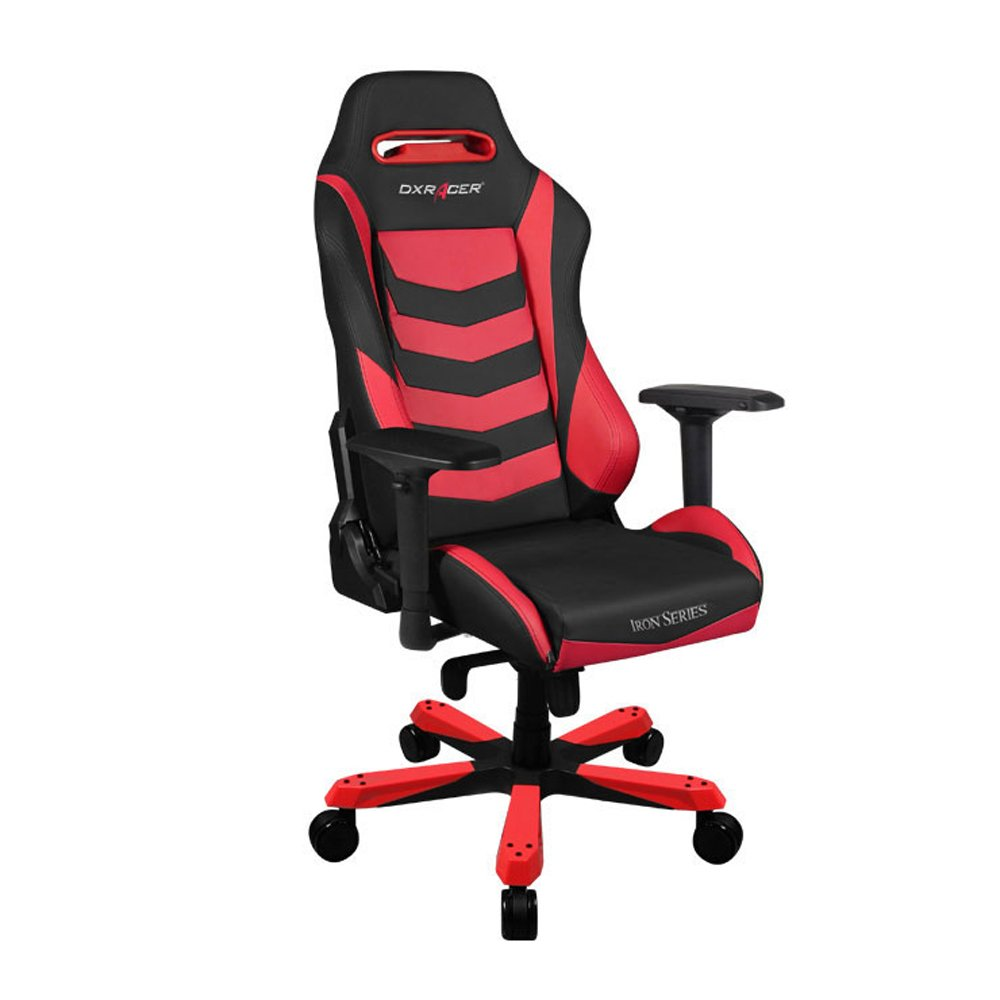 DXRacer Iron Series Gaming Chair - Black Red - OH/IS166/NR