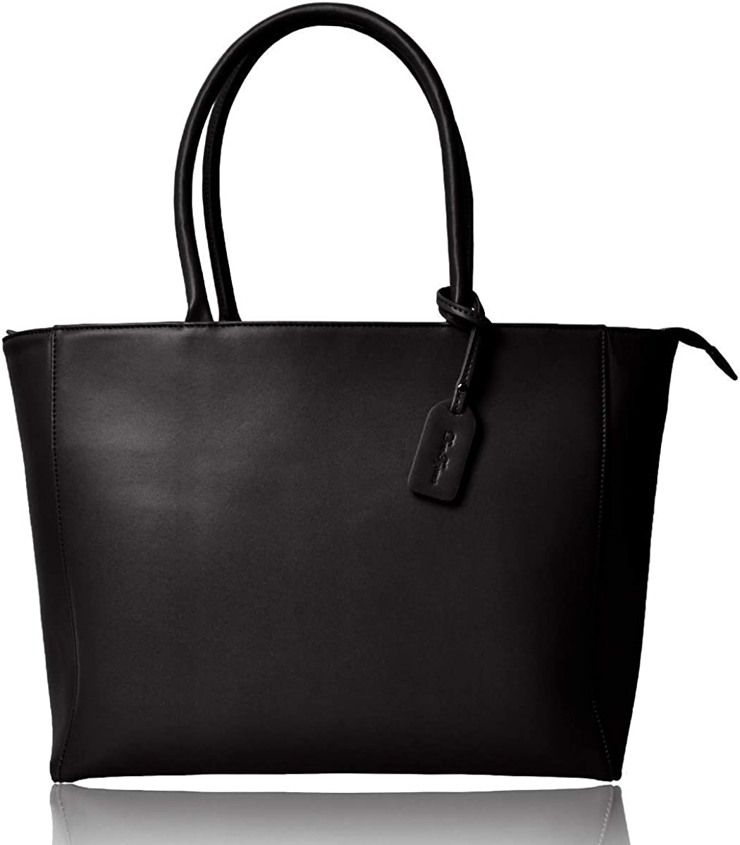 Dom Teporna Genuine Leather and Full Grain Leather Handle Tote Bag for Women High Capacity Designed in Japan