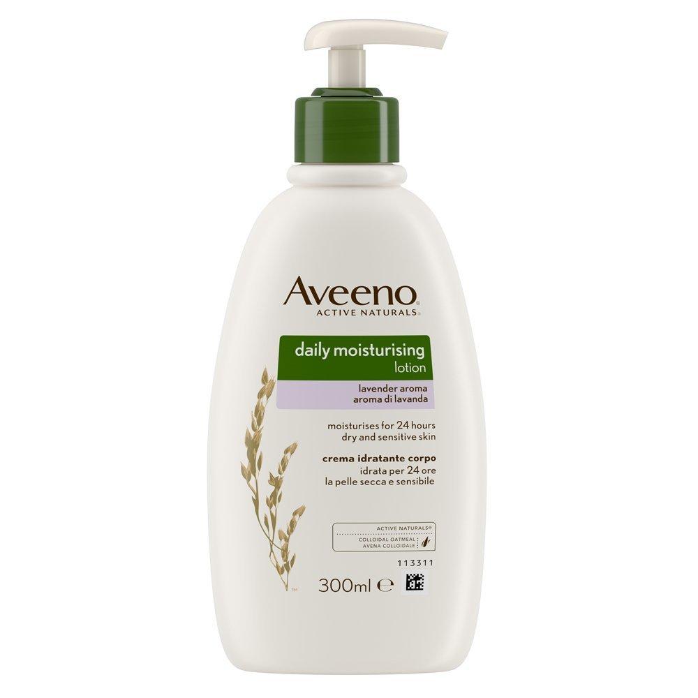 Aveeno Daily Moisturising Lotion Lavender Aroma, 300ml Johnson & Johnson 3497203