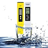 Balleen.E Digital PH TDS Test Meter, TDS EC Temperature PH Measurement 4 in 1 Water Quality Texter Meter Set for Household Drinking Water quality, Swimming Pools, Aquariums, Hydroponics