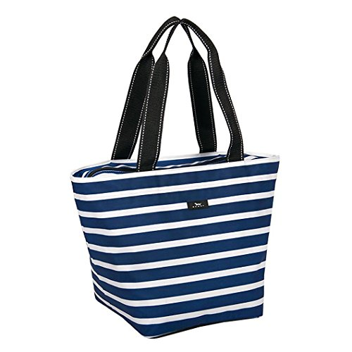 SCOUT Daytripper Everyday Tote Bag, Shoulder Bag, Water Resistant, Wipes Clean, Zips Closed, Nantucket Navy