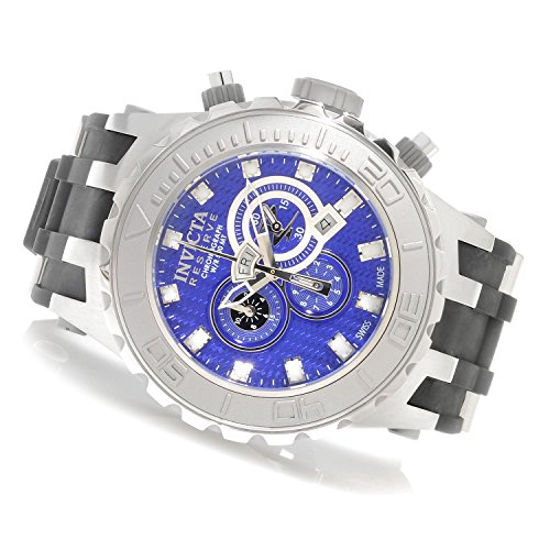 Mens Reserve Specialty Subaqua Titanium Blue Dial Swiss Made Watch - Invicta 80396