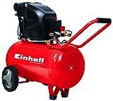 Einhell Kompressor, AC 270/5010(1.8kW 50L Suction Power (270L/min 10bar/Ölgeschmiert Large Wheels and Bracket)