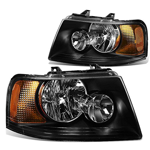 DNA MOTORING HL-OH-FEXPE03-BK-AM Headlight Assembly, Driver and Passenger Side