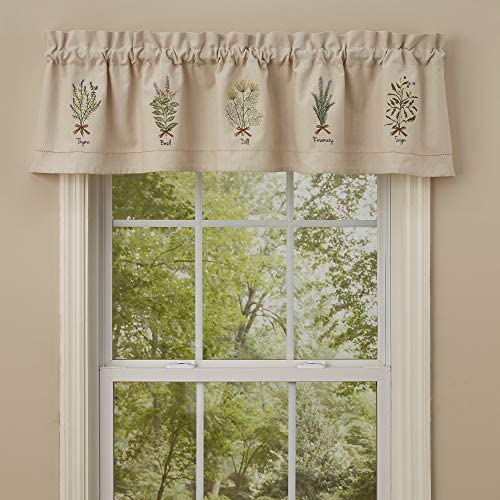 Park Designs Herb Embroidered Lined Valance