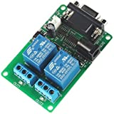 SainSmart 2-Channel RS232 Serial Control Relay Switch Board (2-Channel)