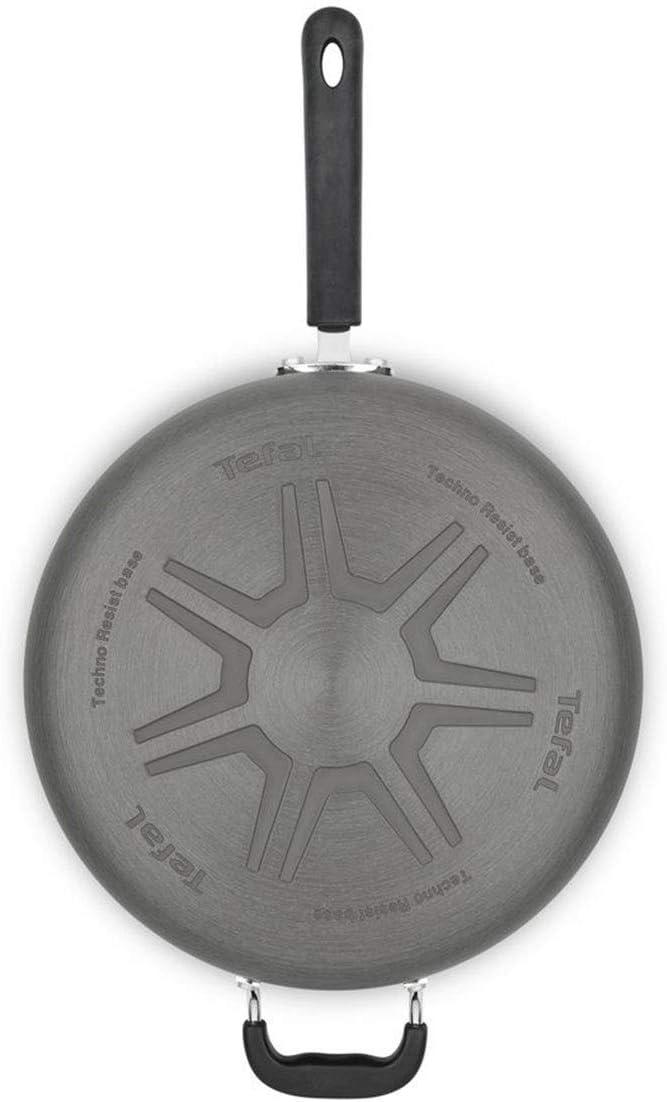 Tefal Hard Anodized Aluminum Deep Saute Pan 30cm//4.75L