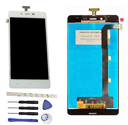 (LCD Display Touch Screen Digitizer Assembly Replacement For BLU Studio Energy D810 D810L D810U (white))