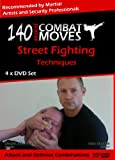140 Advanced Combat Moves, 4 x DVD Self Defence Home Study Course