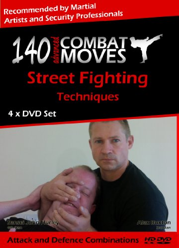 [140 Advanced Combat Moves, 4 x DVD Self Defence Home Study Course] (Hurley Black Belt)