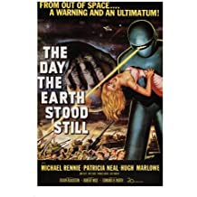 THE DAY THE EARTH STOOD STILL by Robert Wise 1951 MOVIE POSTER 24X36 new rare (reproduction, not an original)