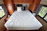 Product review for Zinus Sleep Master Ultima Comfort 10 Inch Pillow Top Spring Mattress,Short Queen