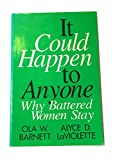img - for It Could Happen to Anyone: Why Battered Women Stay book / textbook / text book