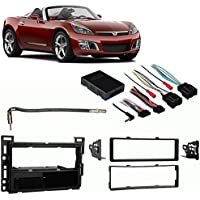 Fits Saturn Sky 2006-2009 Single DIN Stereo Harness Radio Install Dash Kit