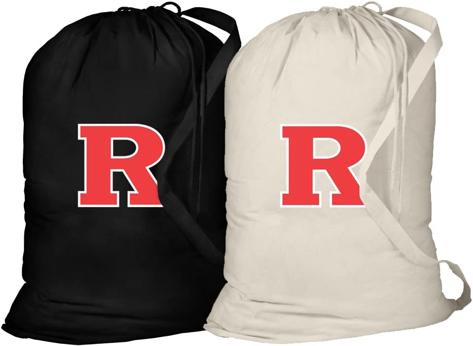 Broad Bay Rutgers University Laundry Bag -2 Pc Set- RU Clothes Bags