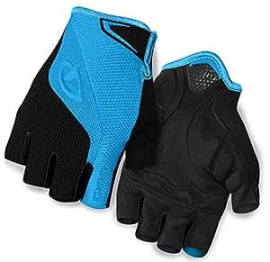 Giro Bravo Bike Glove - Blue Jewel/Black Small