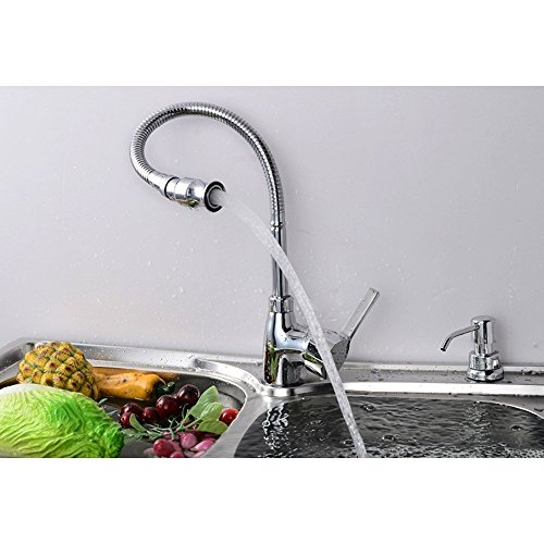 Zingcord Hot And Cold Stainless Steel Kitchen Sink Faucet Pull Down Single  Handle Arbitrary Rotating Wet ...
