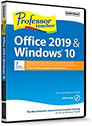 Professor Teaches Office 2019 & Window