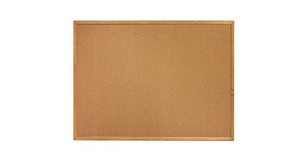 Amazon.com: corcho Board 6 x 4 marco de madera Bulletin ...