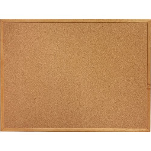 Cork Board 6 x 4 Oak frame bulletin board