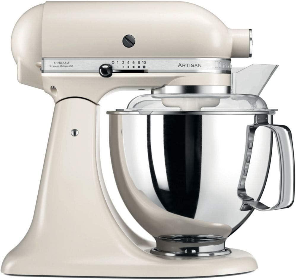 KitchenAid Artisan - Robot de cocina (Beige, Acero inoxidable, 50/60 Hz): Amazon.es: Hogar