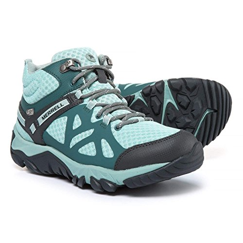 Edge Merrell Womens - Merrell Women's Outright Edge Mid WP Hiking Boots (8.5)