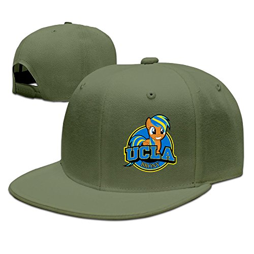 Ucla Brony Logo Adjustable Hat Flat Along Baseball Cap Leisure Hat