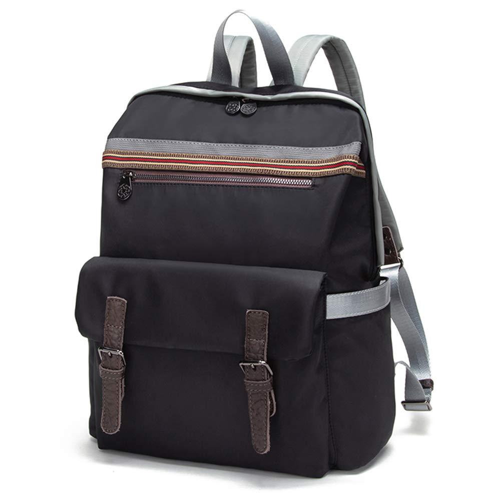 8392404aed Amazon.com  Nevenka Backpack Purse Waterproof Nylon for 14 inch Laptop  (Black