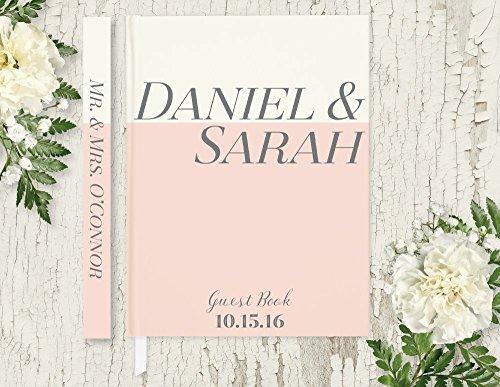 custom wedding guest book - 6