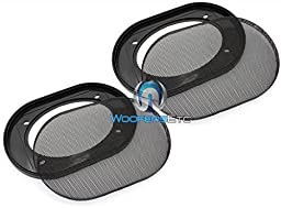 Pair of 4 x 6 Inches Car Speaker Grills