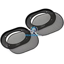 Pair of 4 x 6 Inches Car Speaker Grills
