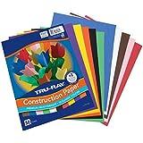 "Tru-Ray Construction Paper, 10 Classic Colors, 9"" x 12"", 50 Sheets"