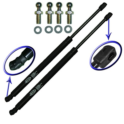 2000 Shock Lexus Ls400 (Two Front Hood Gas Charged Lift Supports With 4 Upgraded Studs For 1998-2000 Lexus LS400. Left and Right Side. WGS-260-2)