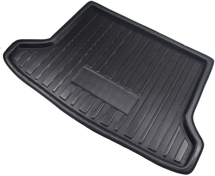 Raraso Cargo Liner For Honda HR-V Vezel HRV 2014-2019 Boot Tray Rear Trunk Cover Matt Floor Carpet Mat Kick Pad Mud Non-slip Anti Dust