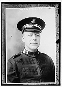 Col. George French,Salvation Army,in uniform