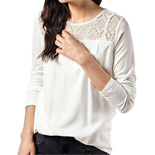 SUNNOW Womens O Neck Stitching T Shirt product image