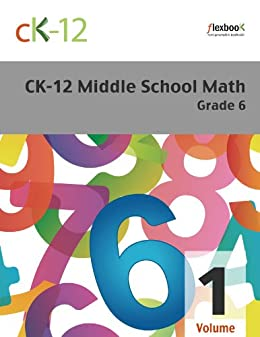 CK 12 Middle School Math Grade ebook product image