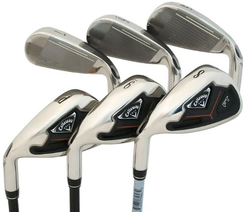 Callaway FT 6-Club Iron Set (5-Iron to Pitching Wedge, Left Hand, Graphite, Regular)
