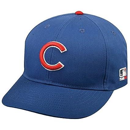 Amazon.com   Chicago Cubs Adult MLB Licensed Replica Cap Hat ... 8af7f37634a