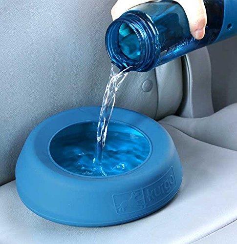 Orvis No-Splash Travel Bowl, Blue