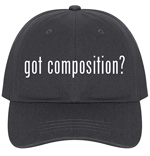 The Town Butler got Composition? - A Nice Comfortable Adjustable Dad Hat Cap, Dark Grey (Best Composite Decking 2019)