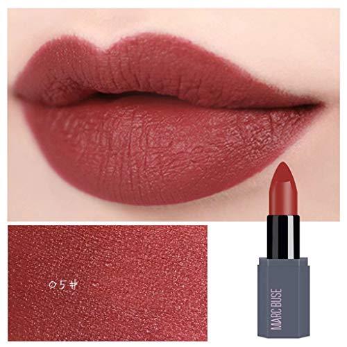Big Sale! Wintialy Waterproof Lipstick Matte Pumpkin Color Lipstick Eat Earth Rich Vitamin E Moistu ()