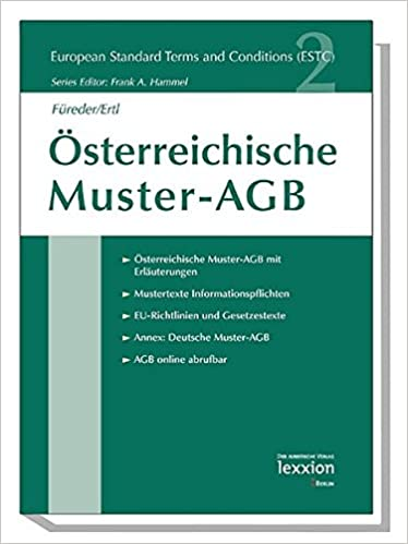 buy osterreichische muster agb european standard terms and conditions book online at low prices in india osterreichische muster agb european standard - Agb Muster