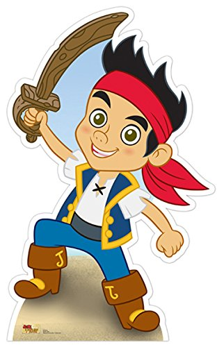 Star Cutouts SC539 Jake and The Neverland Pirates Standee Cardboard Cut Out (Jake And The Neverland Pirates Cardboard Cutouts)