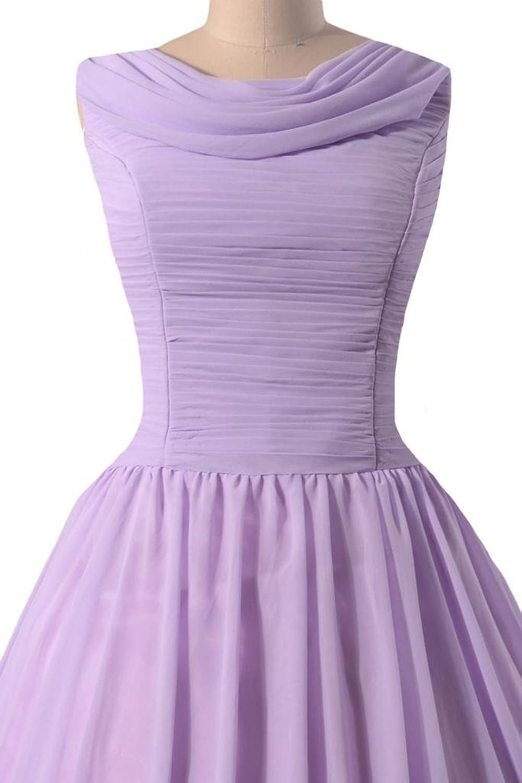 DaisyFormals Tea Length Bridesmaid Dress Vintage Party Dress Prom Dress(BM1639)