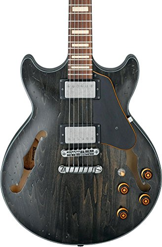 Ibanez Artcore Vintage AMV10A – Transparent Black Low Gloss
