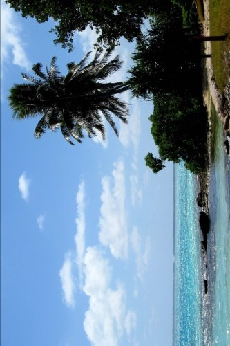 Beach on Fanning Island Republic of Kiribati Journal: 150 page lined notebook/diary