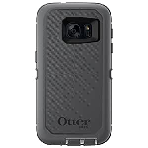 OtterBox DEFENDER SERIES Case for Samsung Galaxy S7 ONLY- Retail Packaging - GLACIER (WHITE/GUNMETAL GREY)