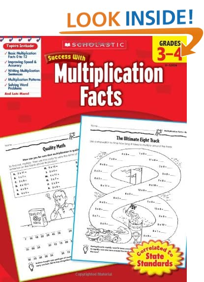 Multiplication Facts: Amazon.com